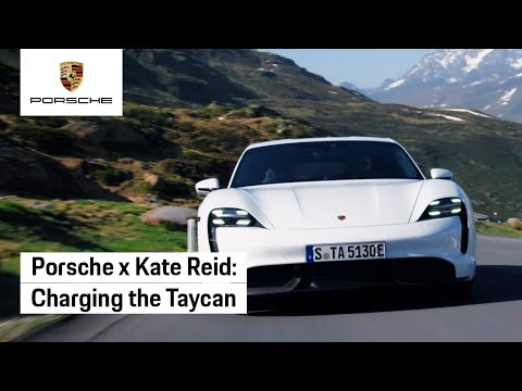 Charging the Taycan with Kate Reid