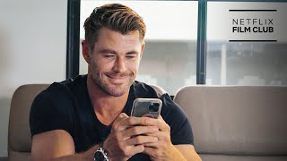 Dwayne Johnson, Chris Hemsworth, Joey King, Lana Condor & More on a Group Text | Netflix