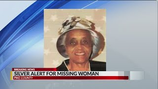 Silver Alert issued for missing Pike County woman