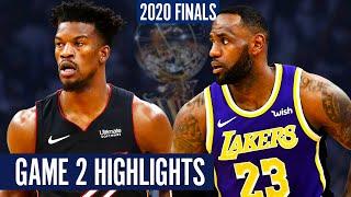 HEAT vs LAKERS GAME 2 - Full Highlights | 2020 NBA Finals