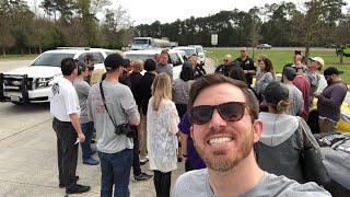 Lux Rally Police Escort across Louisiana