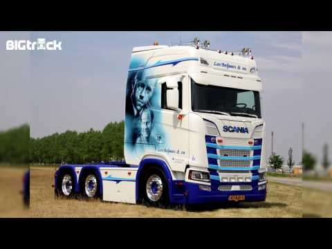 Leo Beljaars: Scania S580 'The Green Mile'