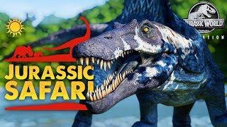 SPINOSAURUS SWAMPLANDS!! | Jurassic Safari Park (Jurassic World: Evolution)