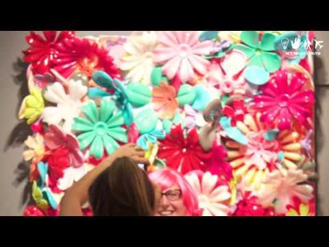 #OnTheGround - Desire Obtain Cherish at 2016 LA Art Show
