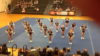 2014 Sandwich Indians Competitive Cheerleading Routine