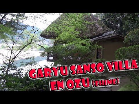 Garyu Sanso Villa de Ozu en Ehime, Shikoku, Japón. Japan 2016