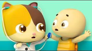 *NEW*Bác sĩ Mimi và bạn rùa dễ thương | Ngày đi tiêm phòng của mèo con| Tuyển tập hoạt hình BabyBus