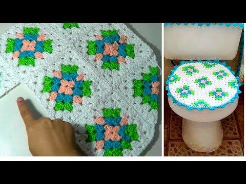 Crochet Juego De Bano Paso A Paso En Fotos Videomoviles Com