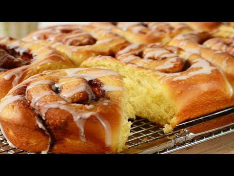 Cinnamon Rolls (Buns) Recipe Demonstration - Joyofbaking.com