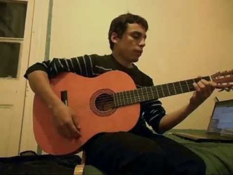 Guitarra - El Rín del Angelito - Violeta Parra - 5º básico Colegio Casteliano 2013