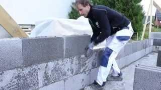 Bygg garasjen din med Leca Basic blokk 15 cm