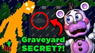 FNAF 6's SECRET GRAVE! | Five Nights at Freddy's: Pizzeria Simulator (Part 5)
