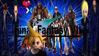 Final Fantasy VII. Let's Infiltrate Midgar! Explore The World!! Stop Shinra!!! Find Sephiroth!!!!