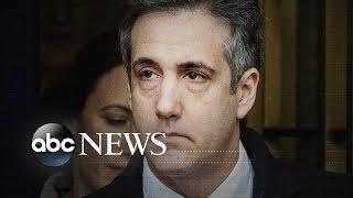 Trump silent after Michael Cohen sentencing