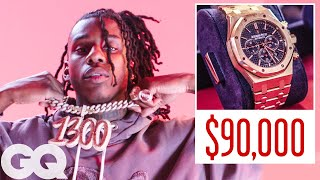 Polo G Shows Off His Insane Jewelry Collection | On the Rocks | GQ
