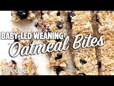 How to Make Oatmeal Bites for Babies   At Home Recipes   Allrecipes.com