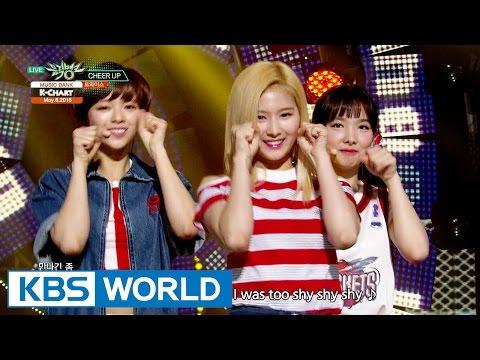 TWICE (트와이스) - Cheer Up [Music Bank K-Chart #1 / 2016.05.06]