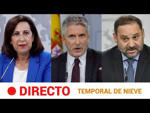 EN DIRECTO 🔴 Rueda de prensa del GOBIERNO sobre el TEMPORAL de FRÍO | RTVE Noticias