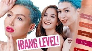 NAG-MODEL FOR A MAKEUP BRAND!? ANO ITU!? + SWATCHES!