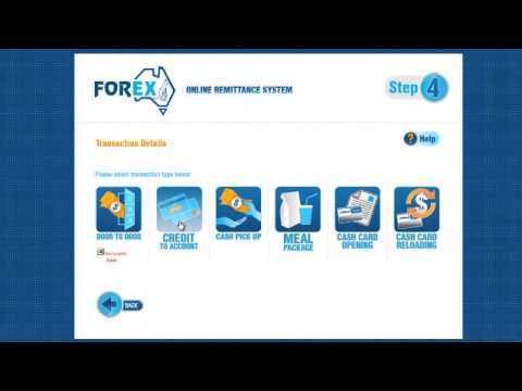 New Forex Online Remittance Form Demo