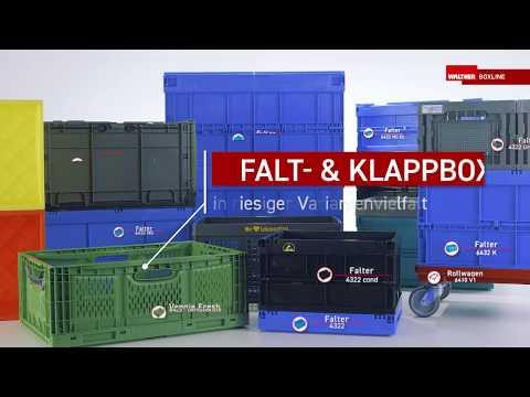 Faltboxen von WALTHER Faltsysteme