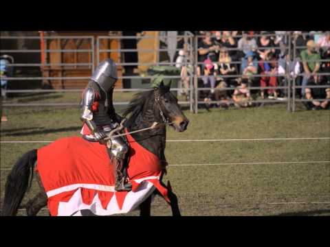 Medieval Jousting at the Abbey Medieval Festival