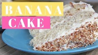 Southern Banana Cake Recipe| Homemade
