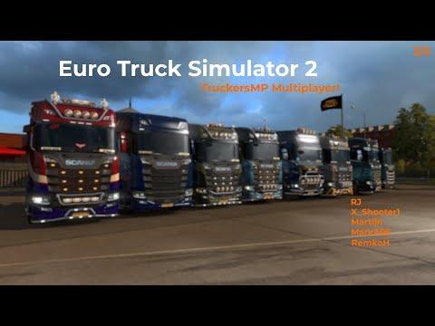 Euro Truck Simulator 2  TruckersMP  Part 25 Livestream 09122017