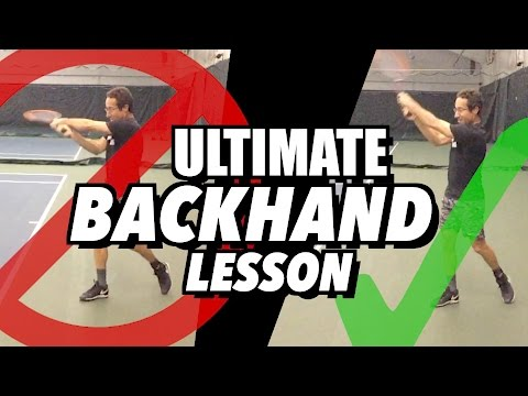ULTIMATE Backhand Tennis Lesson: Technique for Consistency + Spin