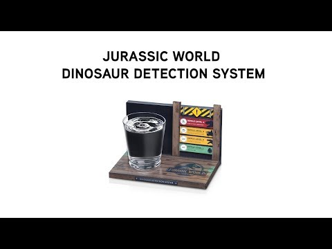 Jurassic World Dinosaur Detection System from ThinkGeek