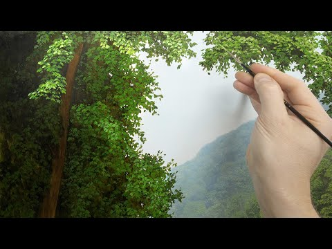 Painting Large Foreground Trees | Oil Painting | Episode 159