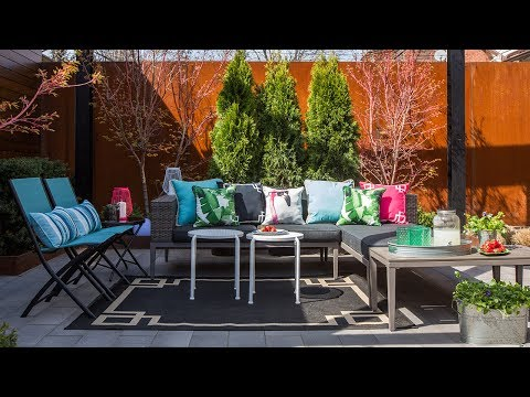 One Patio, Two Stylish Looks