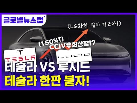 [글로벌뉴스랩] 제2의 테슬라, 루시드? 처칠캐피탈 통해 우회상...