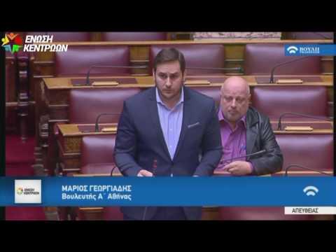 Μ. Γεωργιάδης / Ολομέλεια της Βουλής / 12-01-2017