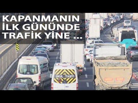 Kapanmanın İlk Gününde Toplu Ulaşım ve Trafikte Yoğunluk; Ek Sefer Konuldu