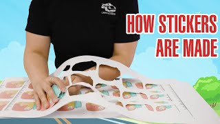 The Journey Of A Sticker