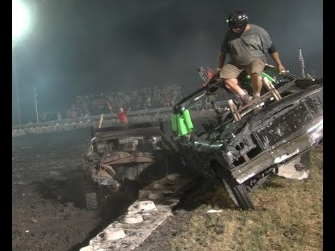 FULL SIZE WIRE DEMOLITION DERBY 2018