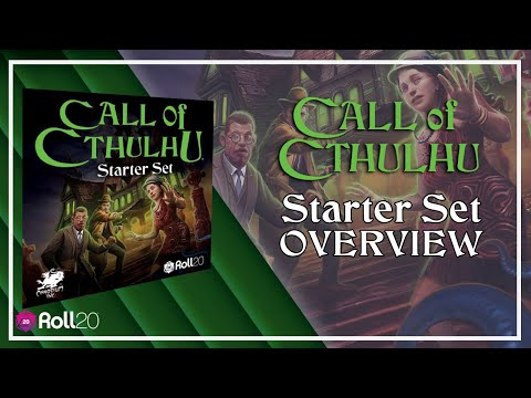 Call of Cthulhu Starter Set Overview on Roll20