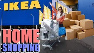 GOING TO IKEA TO SHOP FOR OUR NEW HOUSE!!! *HOUSE SERIES*