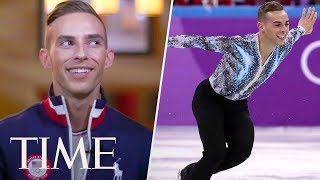 Figure Skater Adam Rippon Dishes On What The Winter Olympics Means To Him | Meet Team USA | TIME