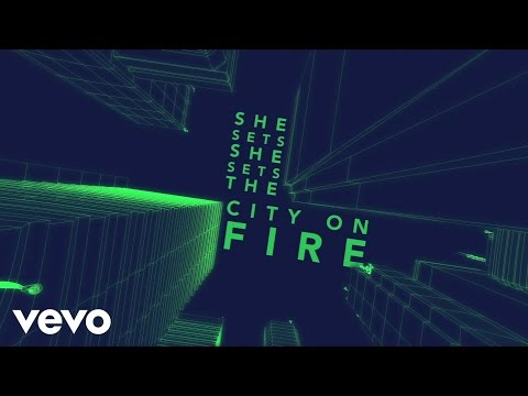Gavin DeGraw - She Sets The City On Fire (Lyric Video)