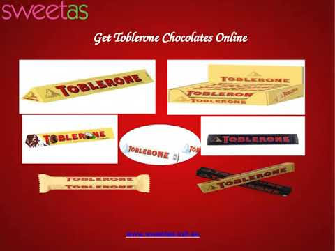 Buy Toblerone Chocolates from Sweet As