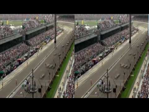Indy 500: The Inside Line in 3D, only on 3net
