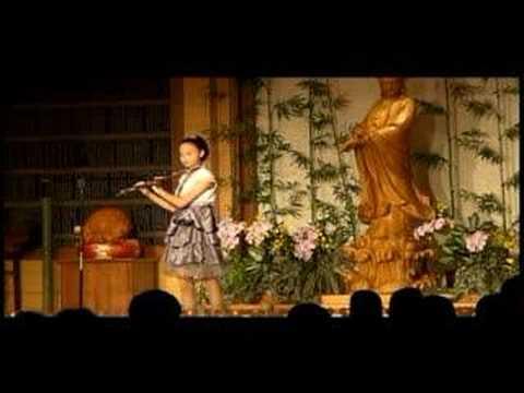牽手--二胡&長笛Erhu&Flute Performance--菀渝的演出(慈濟)