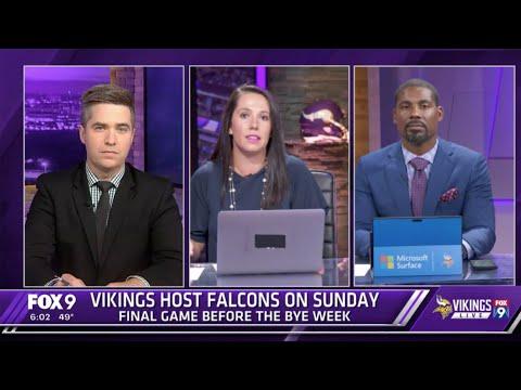 Minnesota Vikings-Atlanta Falcons Preview   Vikings Live   Full Show Week 6
