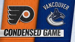 12/15/18 Condensed Game: Flyers @ Canucks