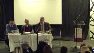 Εκδήλωση Συντονιστικής Ν. Σμύρνης - Ομιλία Γιώργου Ζησιμάτου