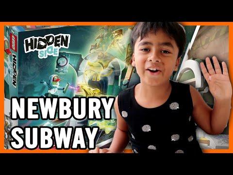 LEGO: Newbury Subway Unboxing and Gameplay