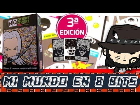 El Juego de Mesa que parece un Videojuego - NO GAME OVER - TUTORIAL Y PARTIDA - BITS PARTY 2