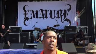 Emmure Live @ Warped Tour West Palm Beach, Florida 7-2-2017